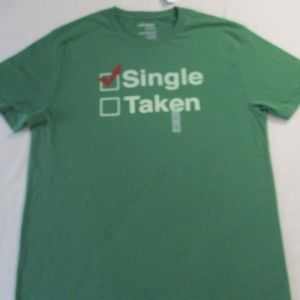 Old Navy Men T Shirt XL Green Short Sleeves